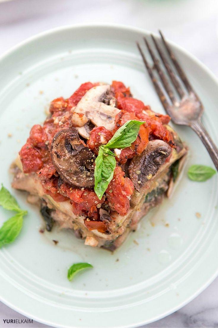 Vegetarian Dairy Free Recipes  Slow Cooker Ve arian Lasagna DF GF