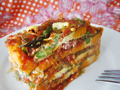 Vegetarian Dairy Free Recipes  Gluten Free Dairy Free Ve able Lasagna