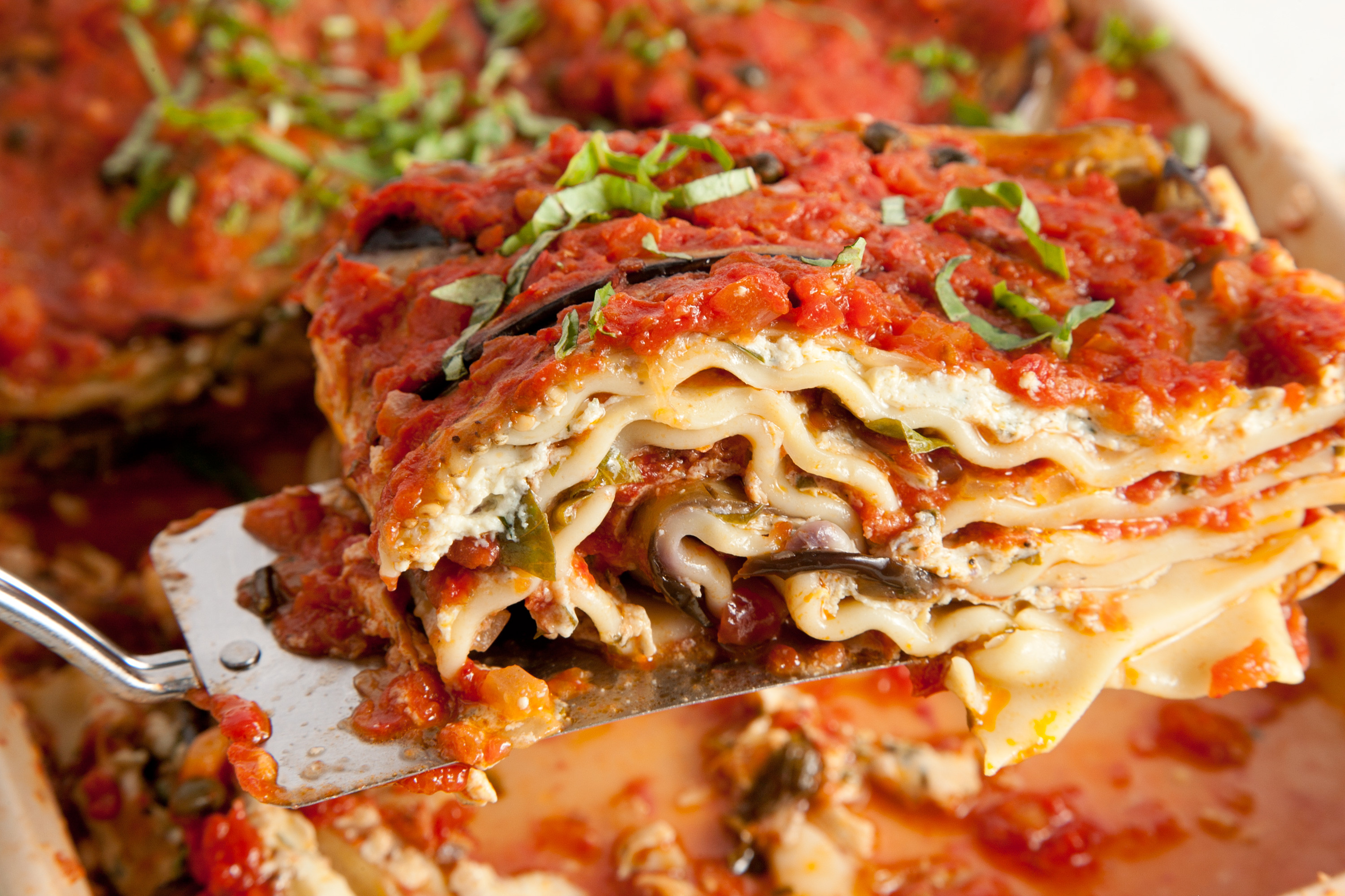 Vegetarian Eggplant Lasagna Without Noodles  Vegan Lasagna 22 Eggplant Recipes Chowhound