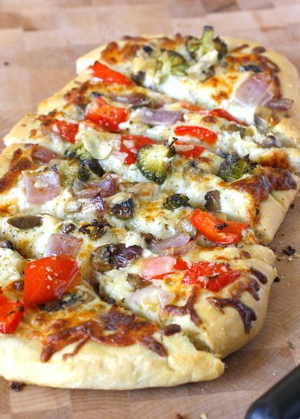 Vegetarian Flatbread Pizza Recipes  The 25 best Ve able flatbreads ideas on Pinterest