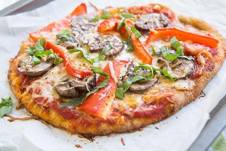 Vegetarian Flatbread Pizza Recipes  Flatbread Veggie Pizza