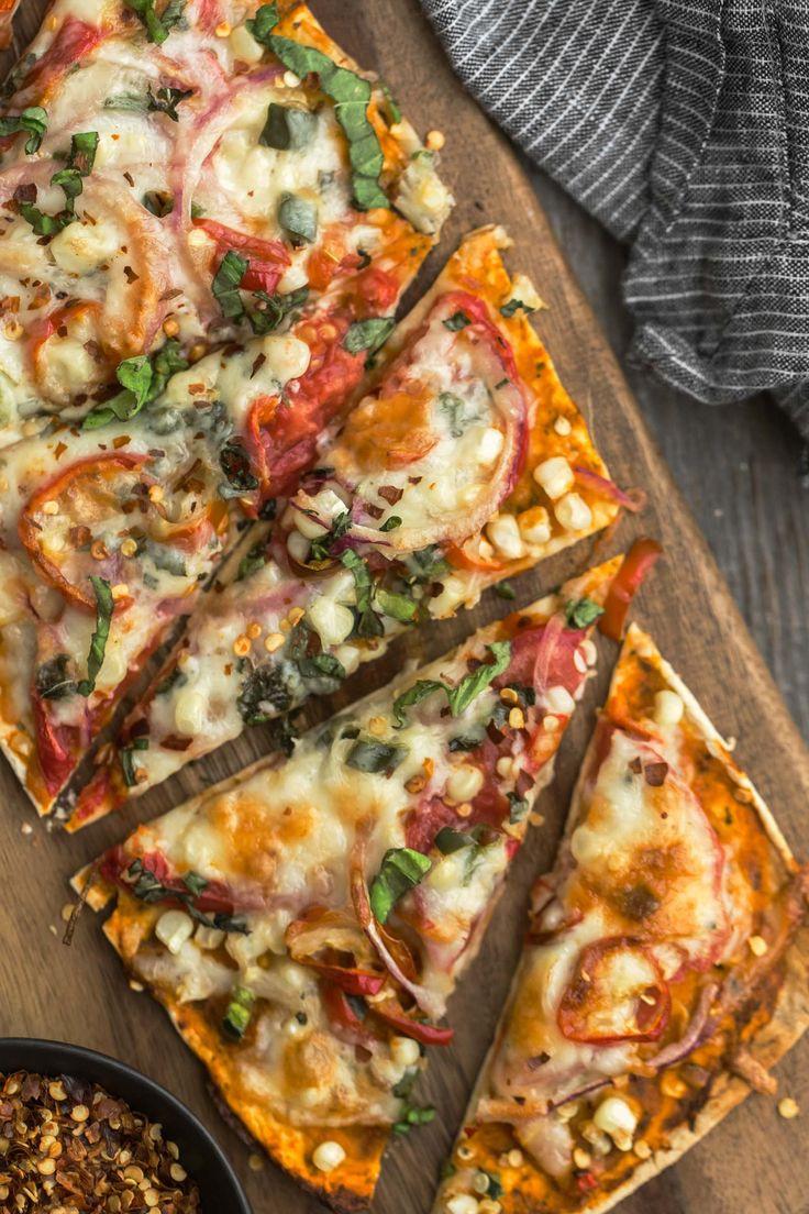 Vegetarian Flatbread Pizza Recipes  Best 25 Ve able flatbreads ideas on Pinterest