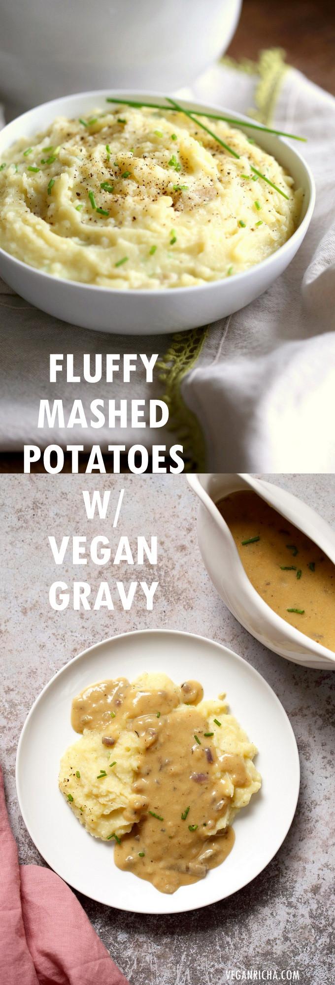 Vegetarian Gravy Recipe For Mashed Potatoes  ve arian gravy recipe for mashed potatoes