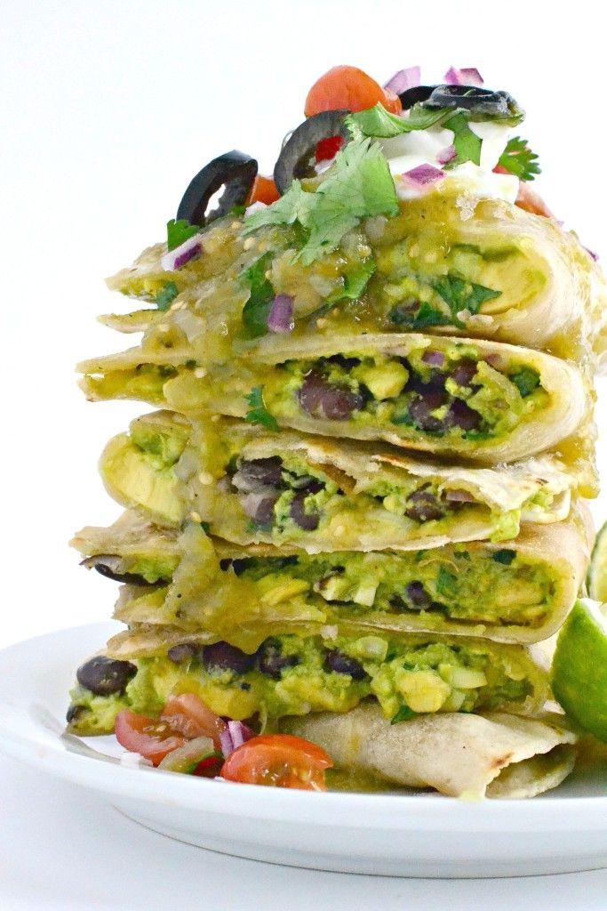 Vegetarian Green Chile Enchiladas  Best 25 Green chili enchiladas ideas on Pinterest