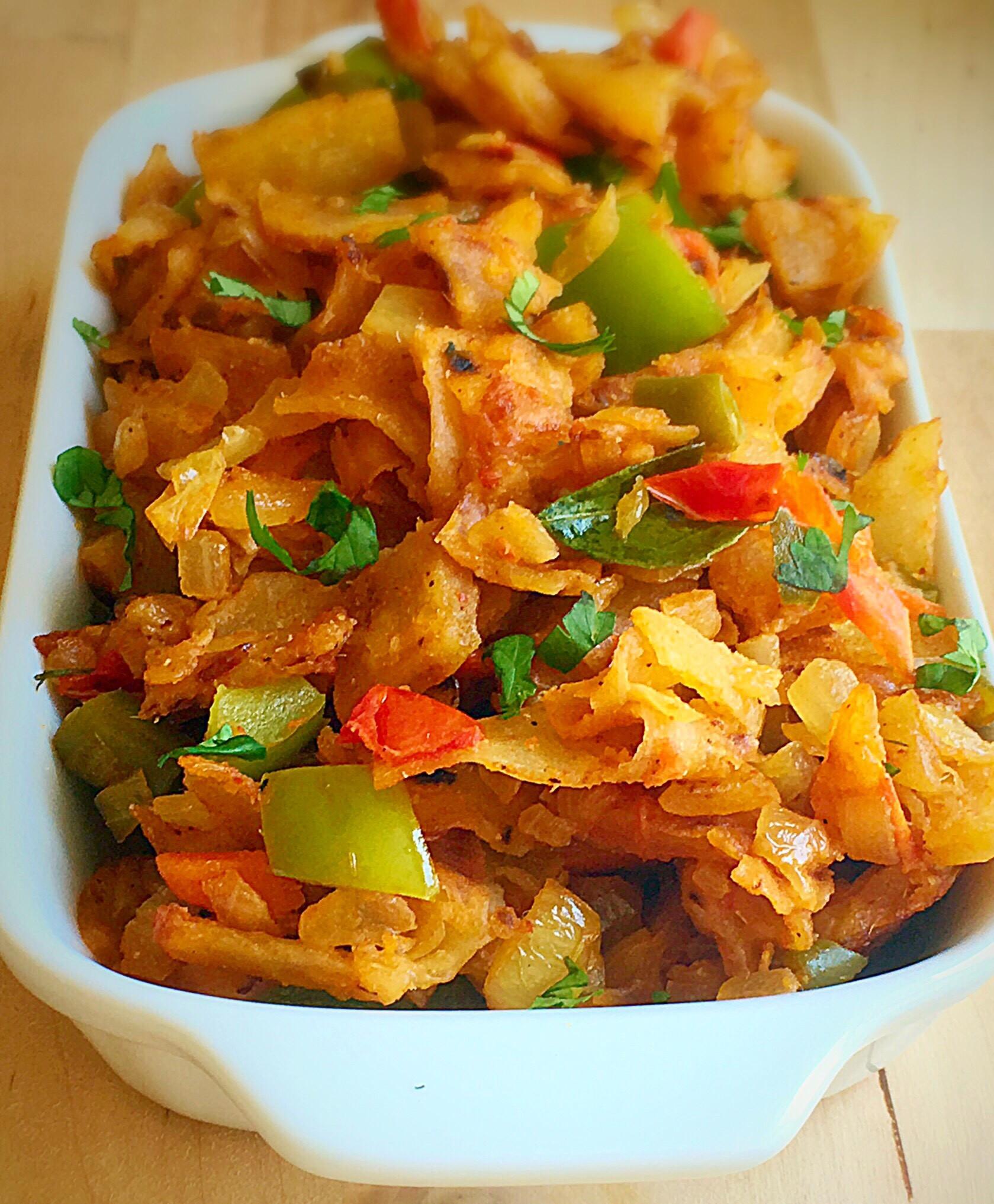 Vegetarian Indian Food Recipes  Veg kothu parotta recipe How to make ve able kothu