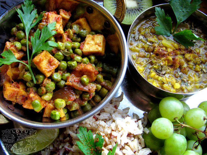 Vegetarian Indian Food Recipes  Indian Vegan recipes The Lotus and the Artichoke