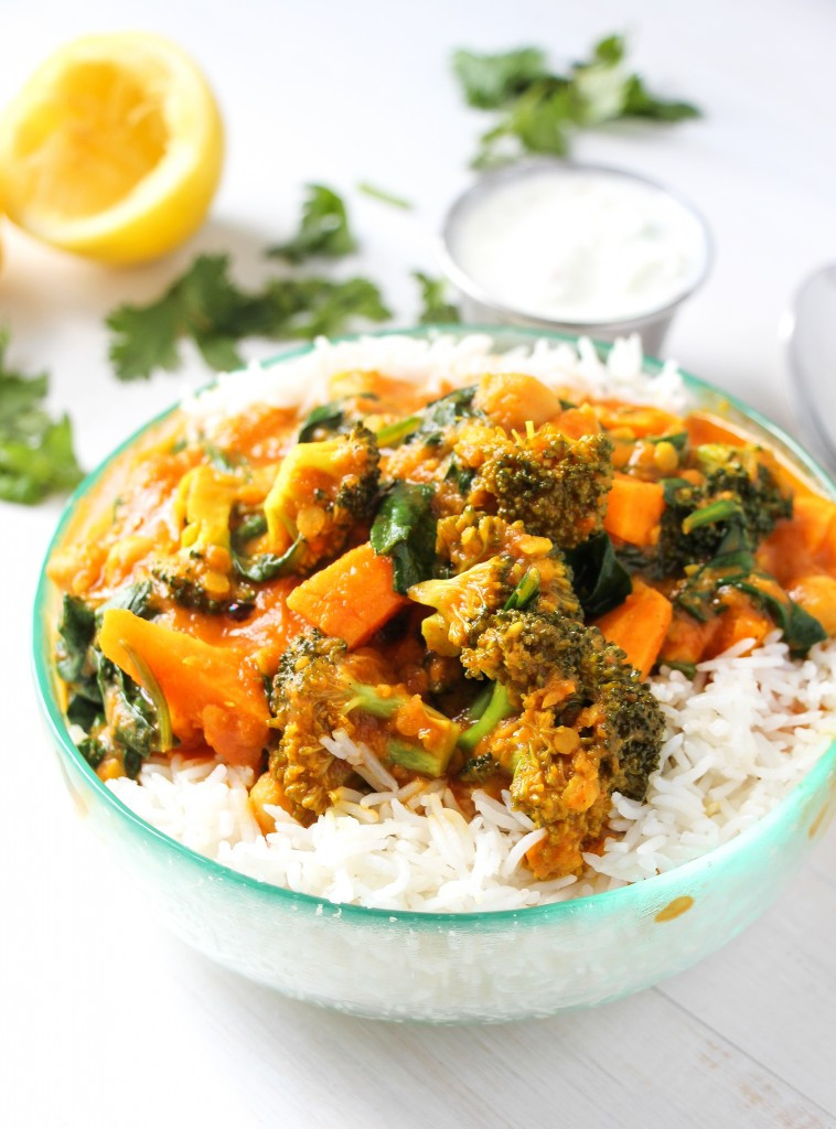 Vegetarian Indian Food Recipes  The Best Ve able Curry Ever Layers of Happiness