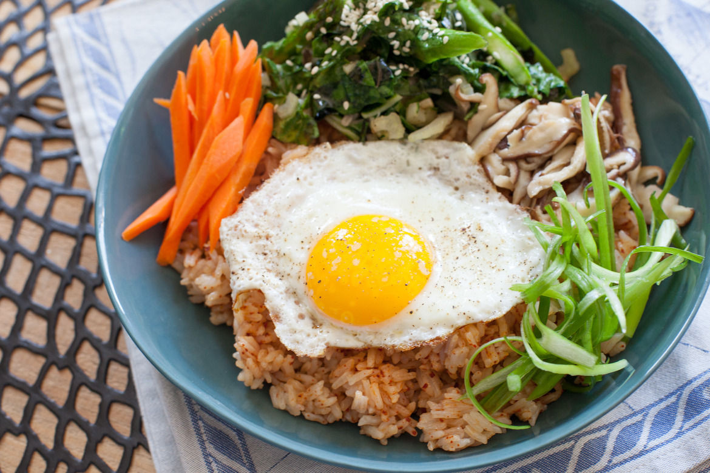 Vegetarian Korean Recipes  Recipe Ve able Bibimbap Blue Apron
