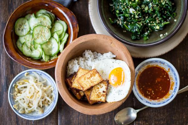 Vegetarian Korean Recipes  Ve arian Korean Bibimbap Bowls The Wanderlust Kitchen