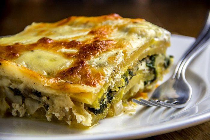 Vegetarian Lasagna Butternut Squash  IndustryEats Food & Cooking Blog