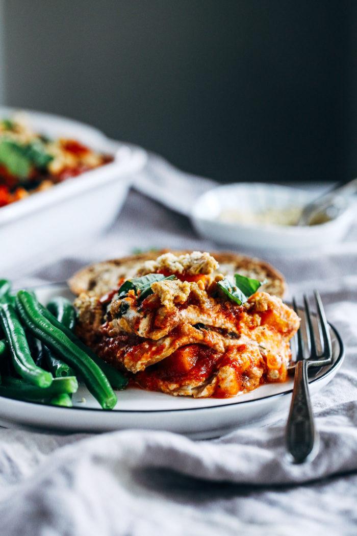 Vegetarian Lasagna Butternut Squash  Vegan Butternut Squash and Kale Lasagna Making Thyme for