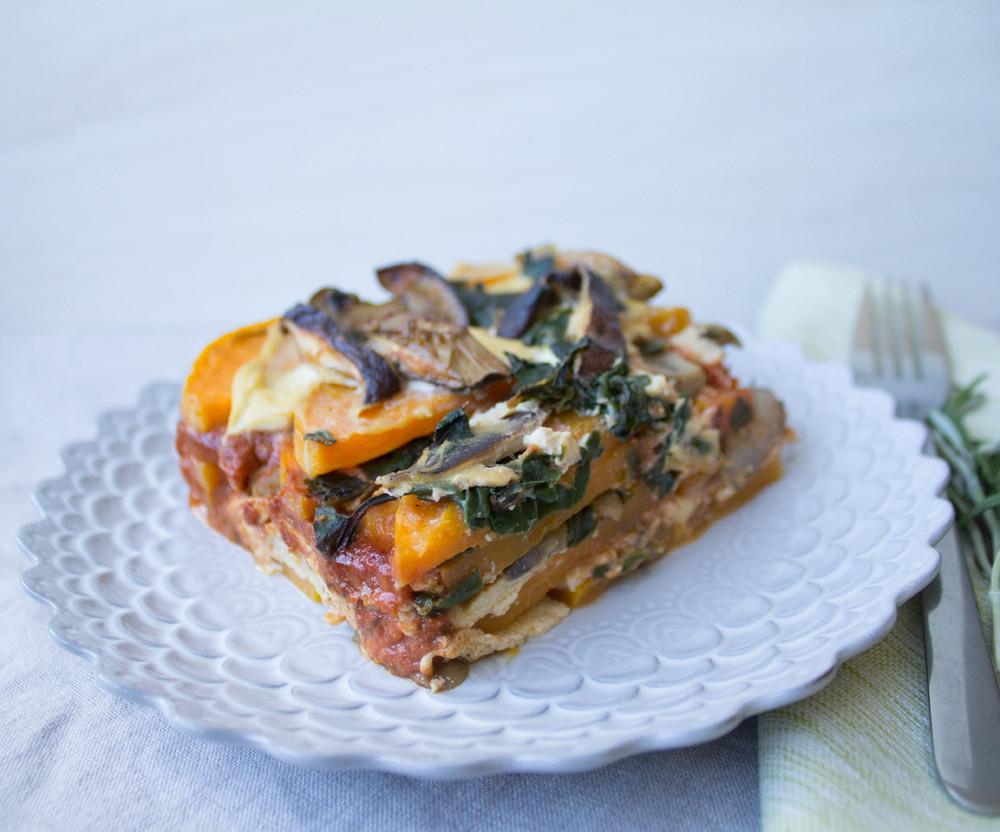 Vegetarian Lasagna Butternut Squash  Butternut Squash Lasagna Recipe — Dishmaps