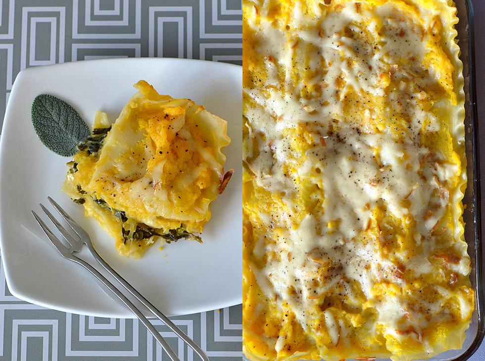 Vegetarian Lasagna Butternut Squash  Ve arian Lasagna Butternut Squash Spinach & Smoked