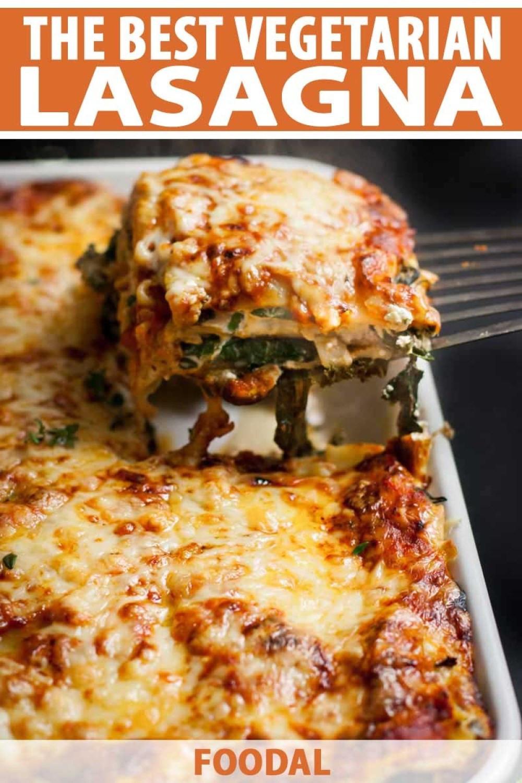 Vegetarian Lasagna With Tofu  The Best Ve arian Lasagna Recipe