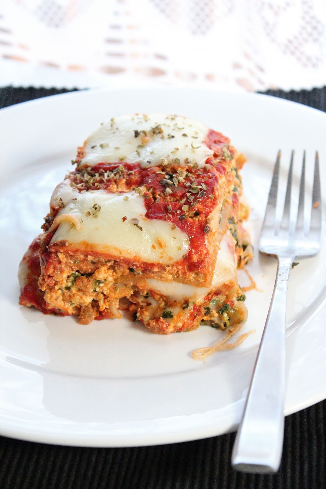 Vegetarian Lasagna With Tofu  Ve arian lasagna