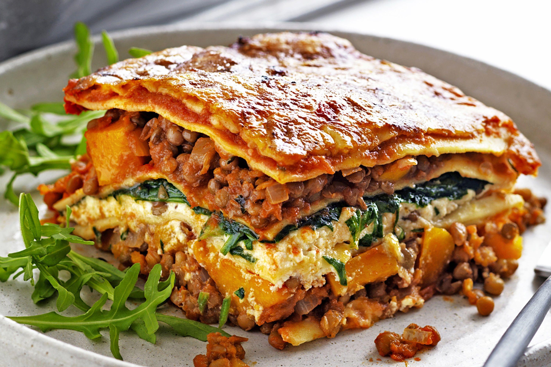 Vegetarian Lasagna With Tofu  ve arian lasagna spinach