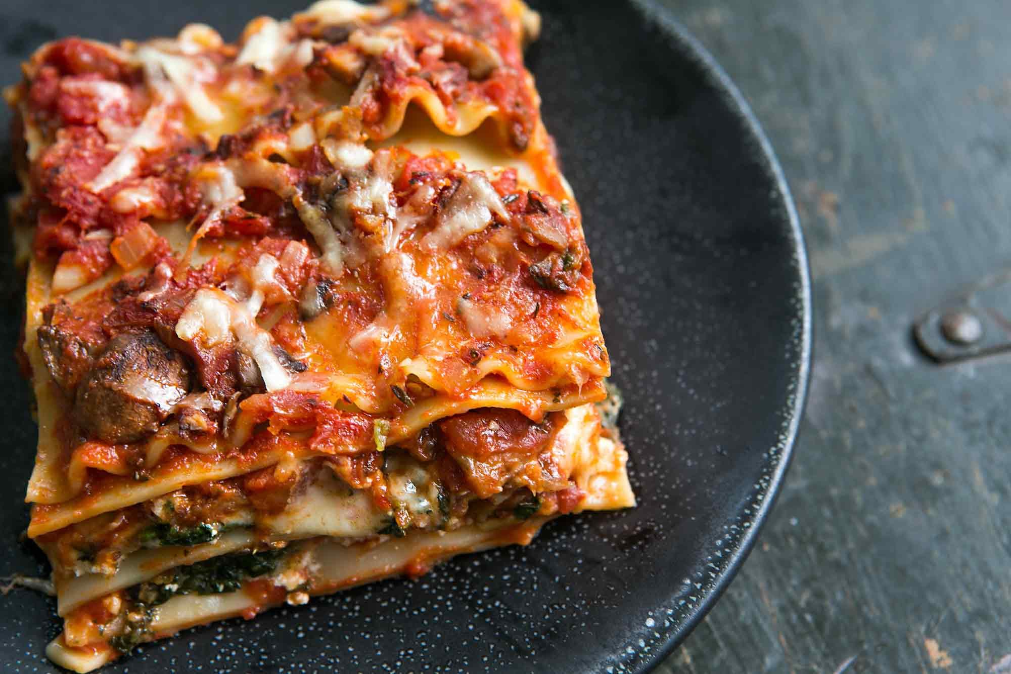 Vegetarian Lasagna With Tofu  Ve able Lasagna A Favorite for All