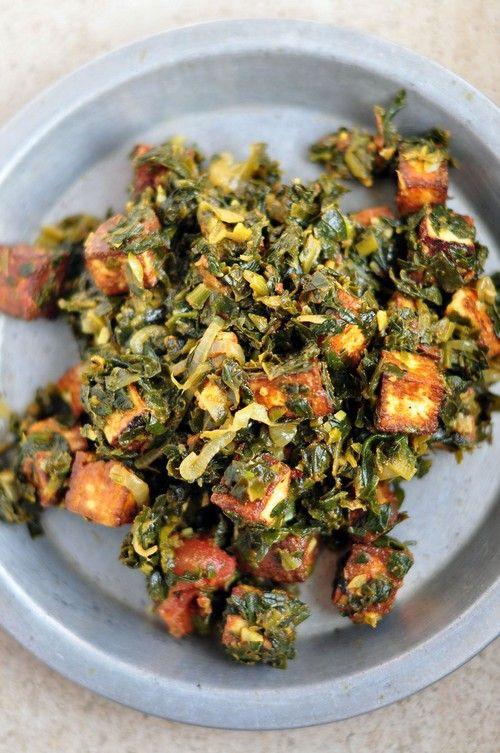 Vegetarian Low Calorie Recipes  Low Calorie Indian Spinach Paneer Palak recipe – 199