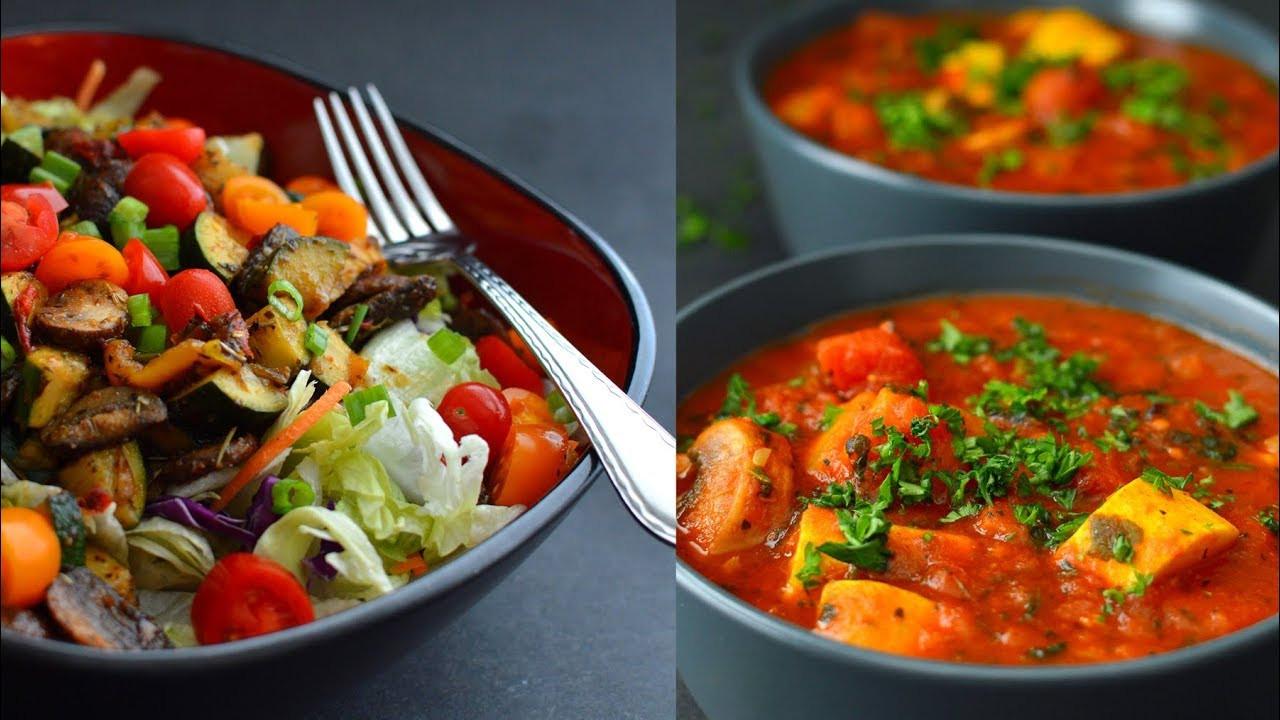 Vegetarian Low Calorie Recipes  3 Vegan HUGE Low Calorie Recipes