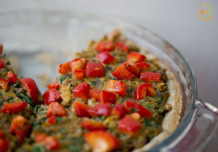 Vegetarian Main Dishes For Christmas  Vegan Holiday Main Dish Mushroom Chickpea Hazelnut Tart