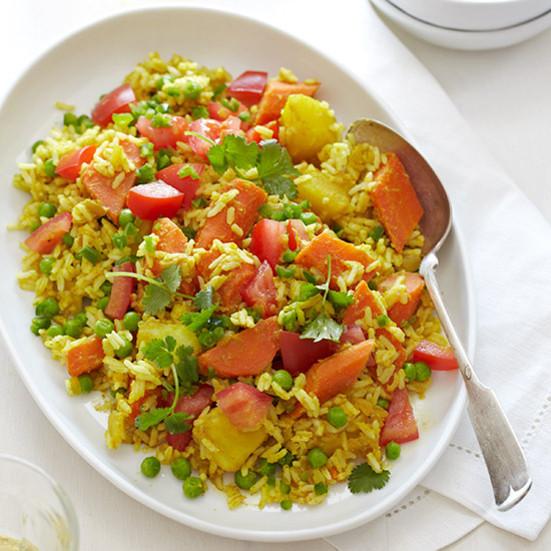 Vegetarian Main Dishes Recipe  Ve arian Biryani Recipe Quick from Scratch Ve able