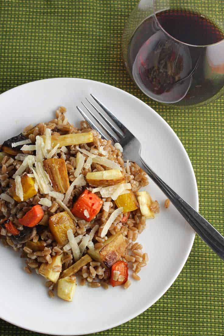 Vegetarian Main Dishes Recipe  Roasted Root Ve able Farro SundaySupper