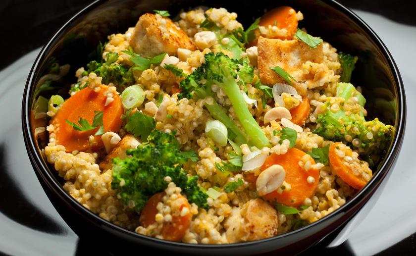Vegetarian Main Dishes Recipe  Spicy Thai Coconut Quinoa Ve arian Main Dishes for