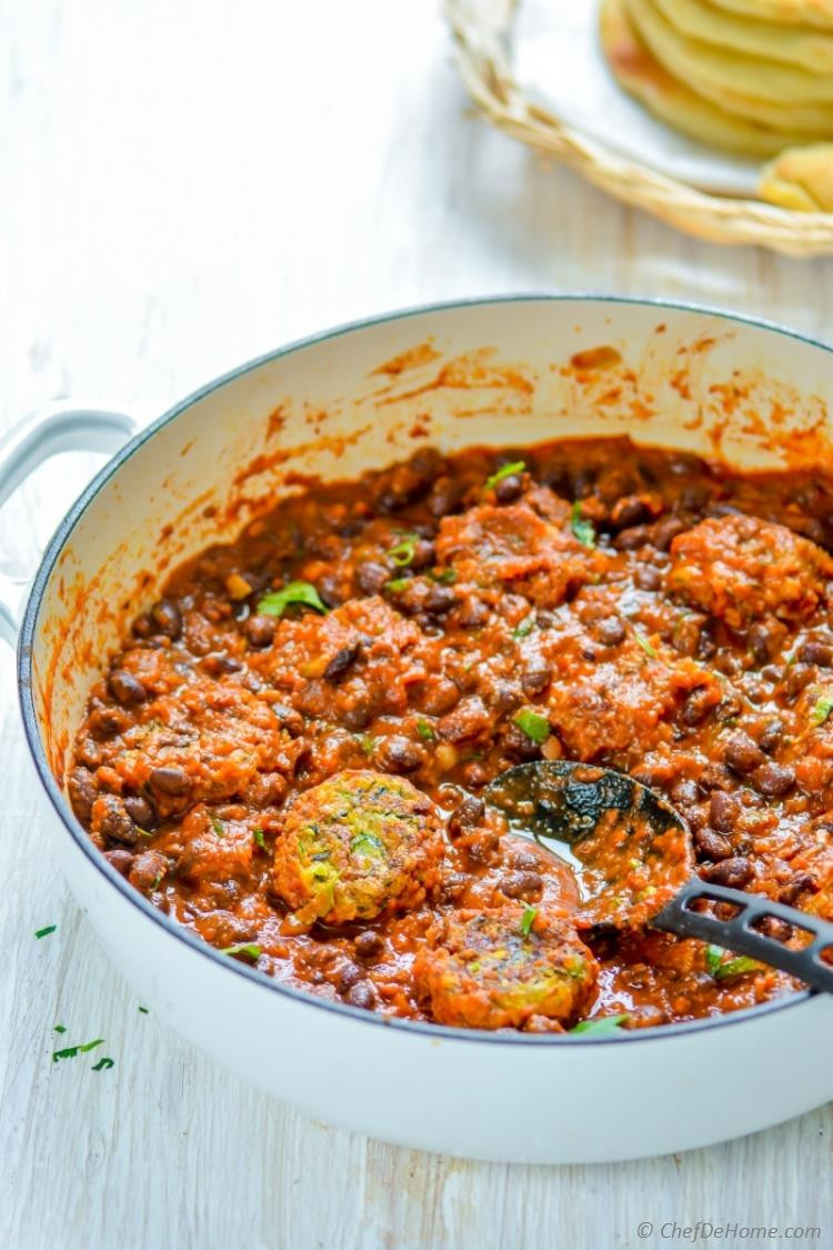 Vegetarian Meatball Recipes  Meatless Meatballs with Beans and Tomato Sauce Recipe