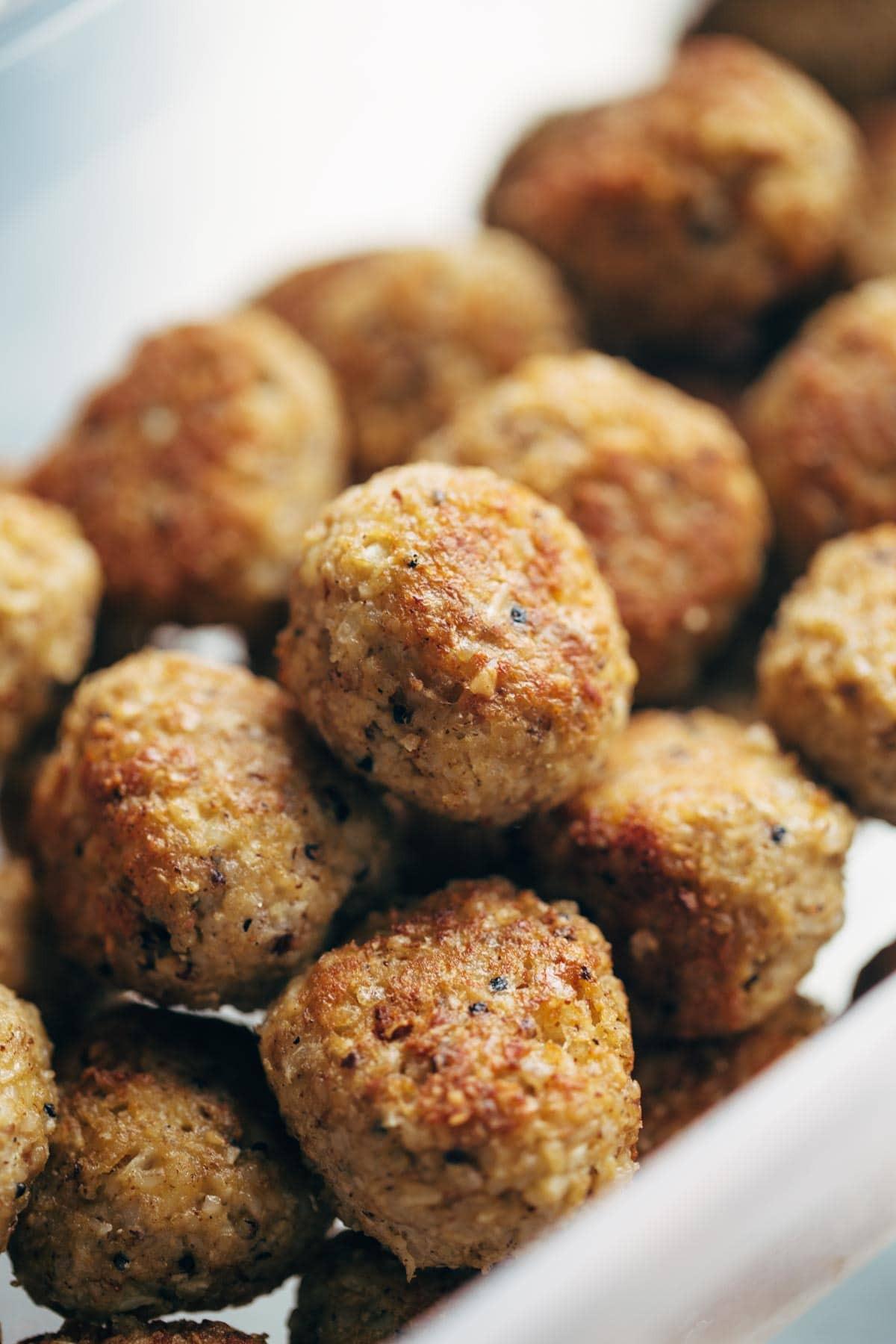 Vegetarian Meatball Recipes  30 Minute Ve arian Meatballs Recipe Pinch of Yum