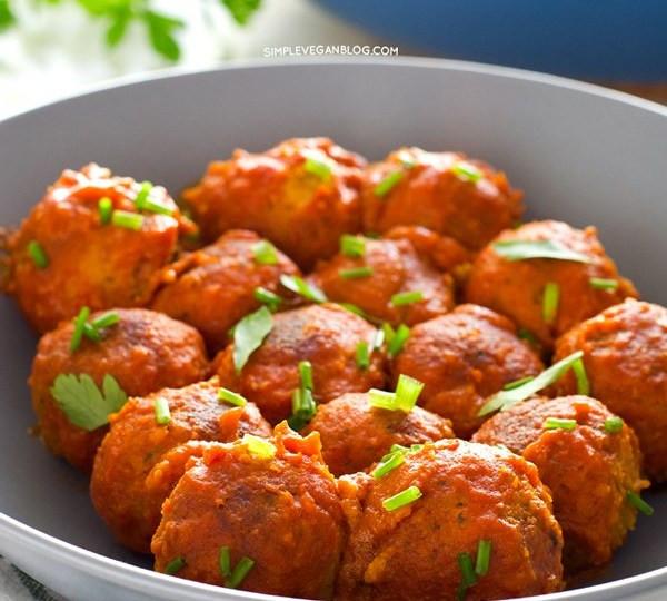 Vegetarian Meatball Recipes  15 Recipes for Homemade Ve arian Meatballs