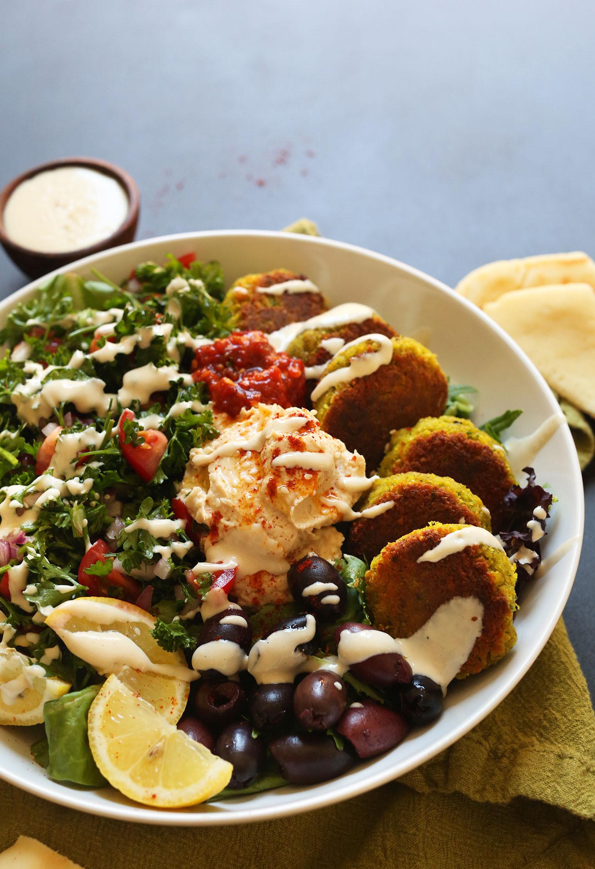 Vegetarian Mediterranean Recipes  Ultimate Mediterranean Bowl