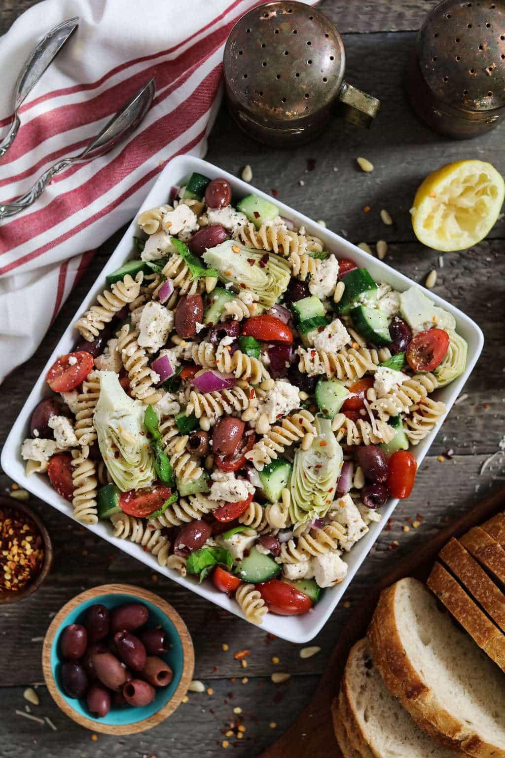 Vegetarian Mediterranean Recipes  vegan mediterranean recipes