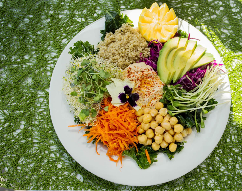 Vegetarian Mediterranean Recipes  Vegan Kale Salad Recipe by Fala Bar