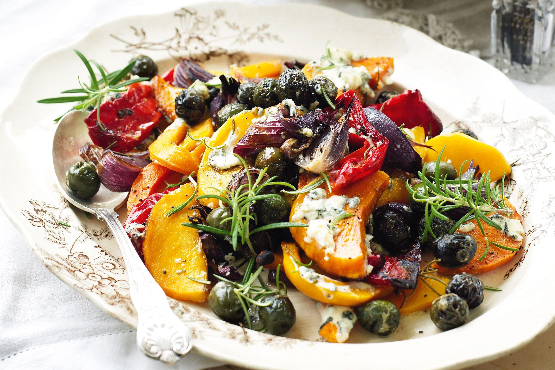 Vegetarian Mediterranean Recipes  mediterranean roast ve ables
