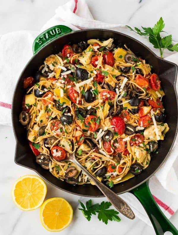 Vegetarian Mediterranean Recipes  Mediterranean Pasta