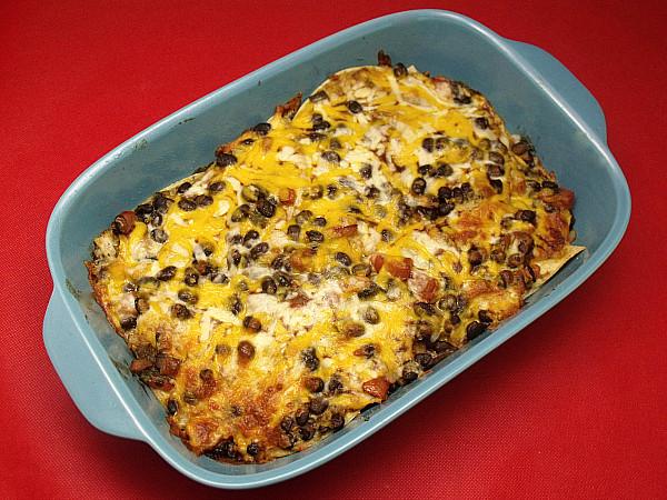 Vegetarian Mexican Casserole Corn Tortillas  Ve arian Mexican Tortilla Casserole
