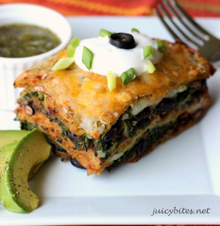 Vegetarian Mexican Casserole Corn Tortillas  Mexican casserole Ve arian