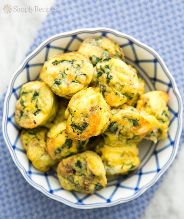 Vegetarian Muffin Tin Recipes  Mini Muffin Frittatas Recipe