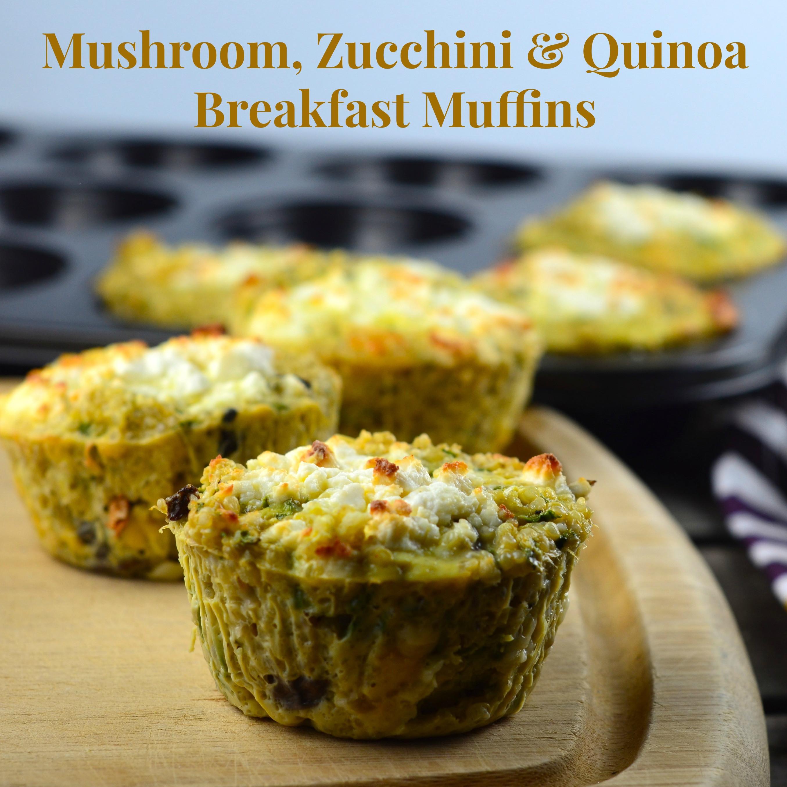 Vegetarian Muffin Tin Recipes  Passover Recipes Mushroom Zucchini & Quinoa Breakfast