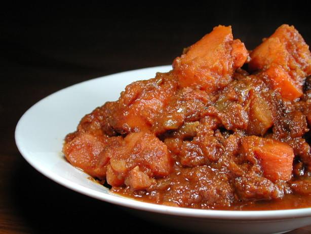 Vegetarian Potato Stew  Moroccan Ve arian Sweet Potato Stew Recipe Food
