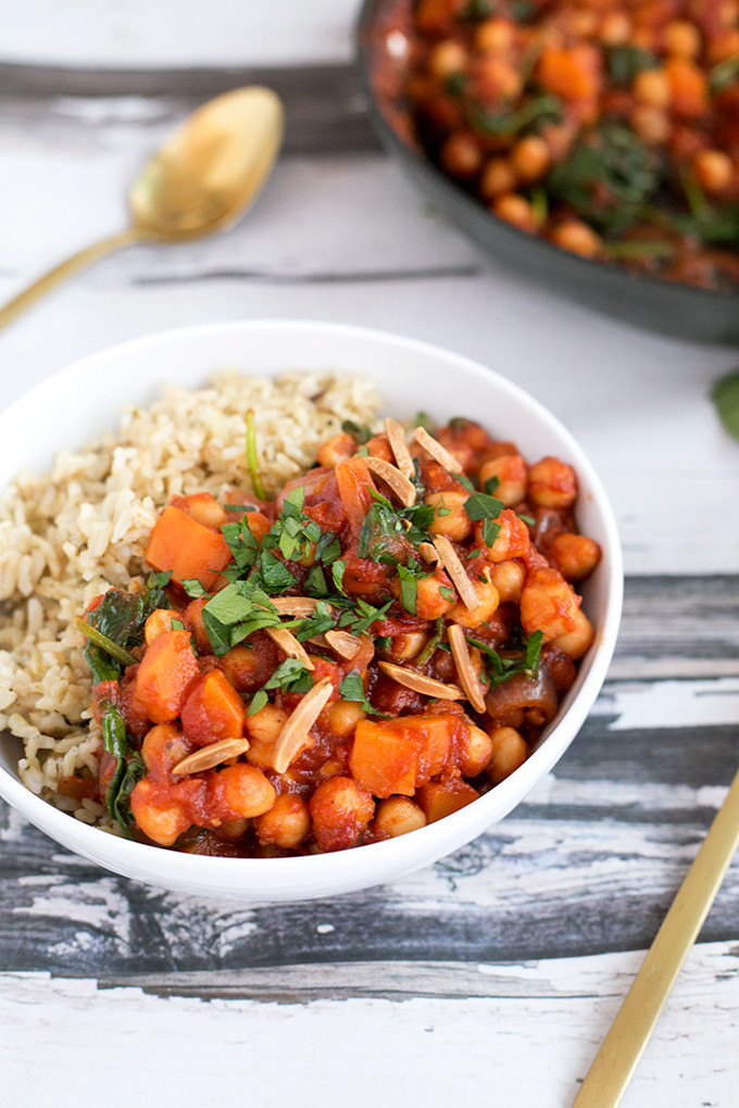 Vegetarian Potato Stew  spanish chickpea stew ve arian