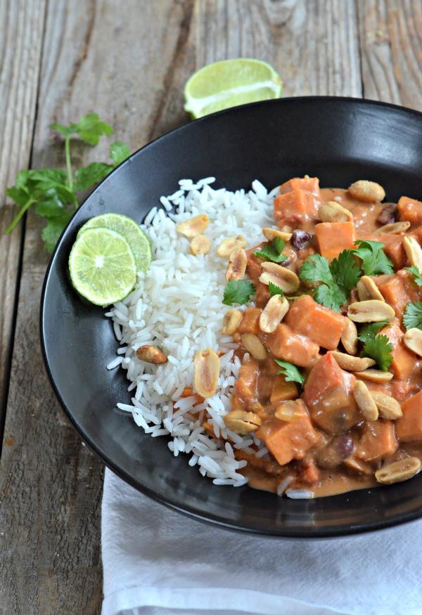 Vegetarian Potato Stew  vegan sweet potato stew