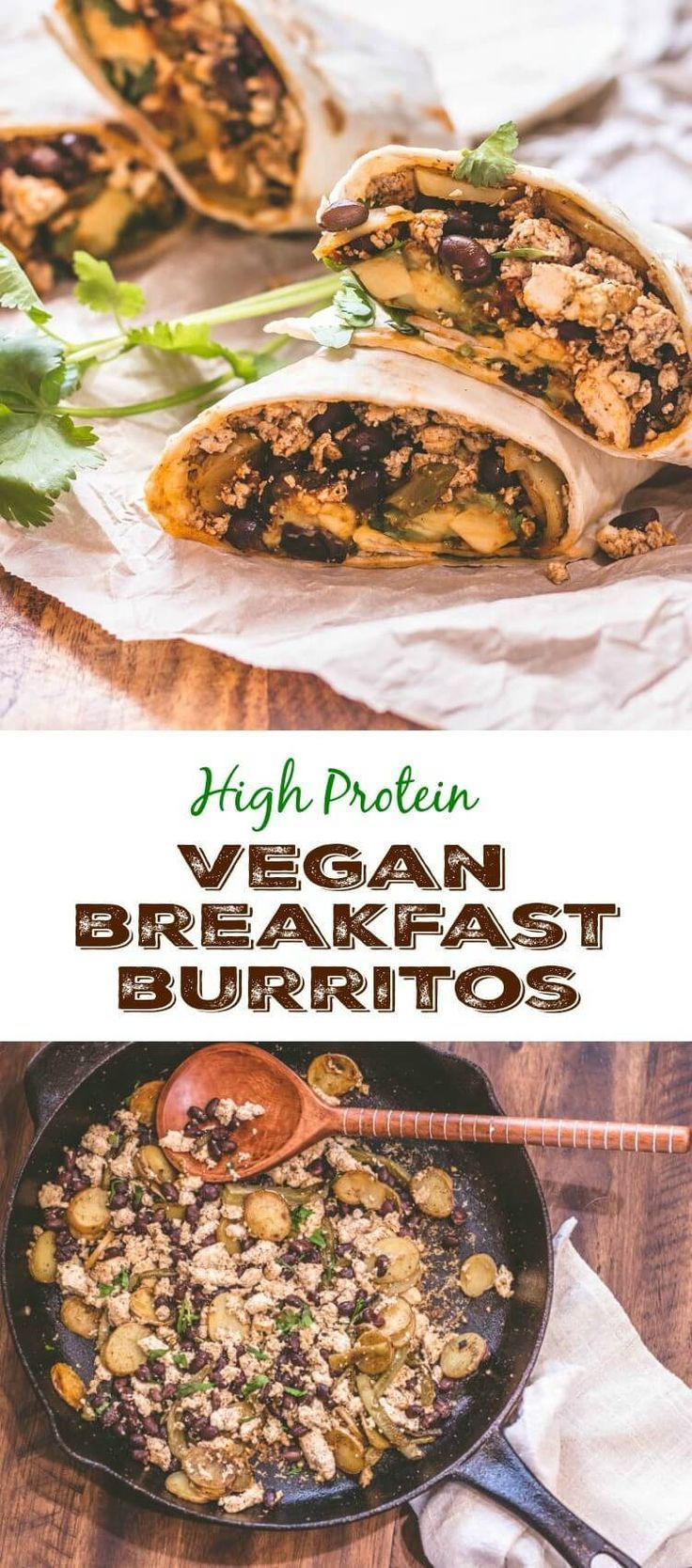 Vegetarian Protein Breakfast  17 Best images about Ve arian on Pinterest