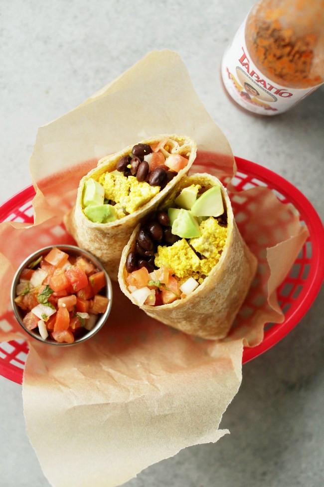 Vegetarian Protein Breakfast  Healthy Vegan Breakfast Ideas Fit Foo Finds