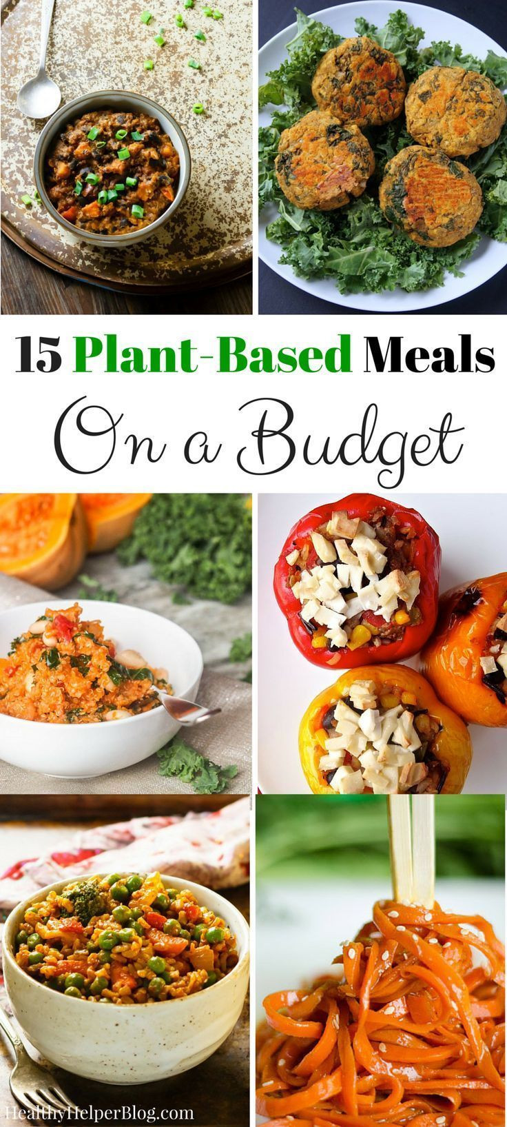 Vegetarian Recipes Cheap  228 best images about Eating Healthy on a Bud on