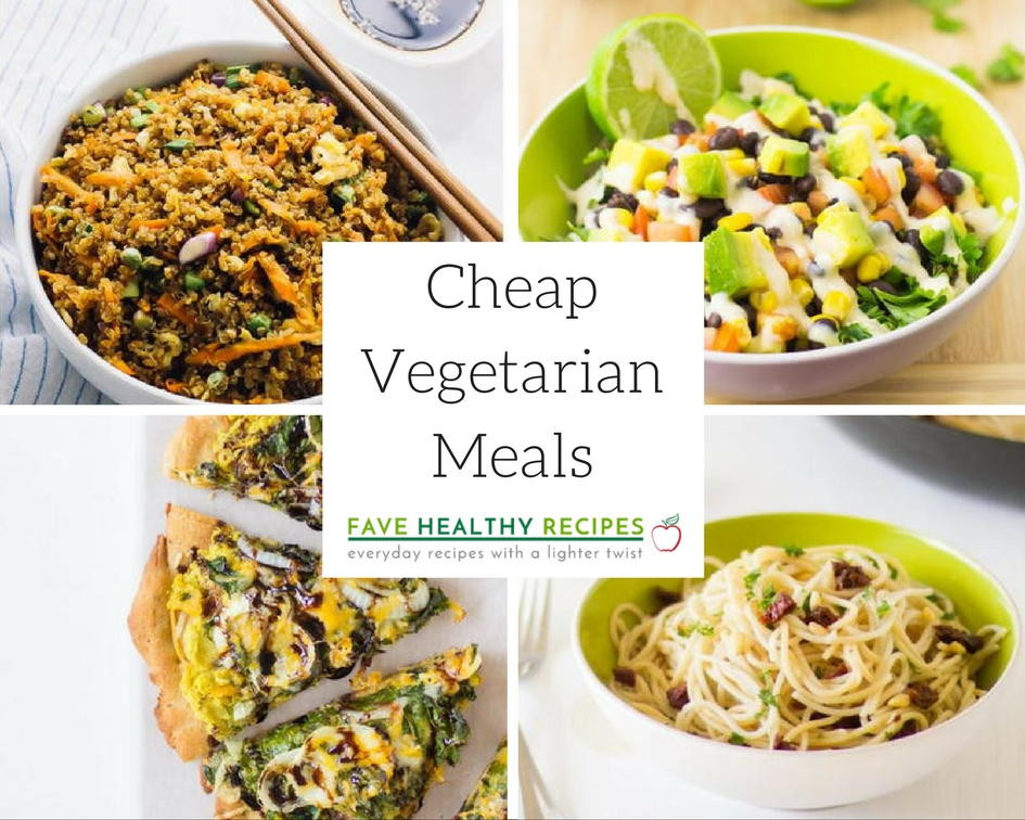 Vegetarian Recipes Cheap  20 Cheap Ve arian Meals