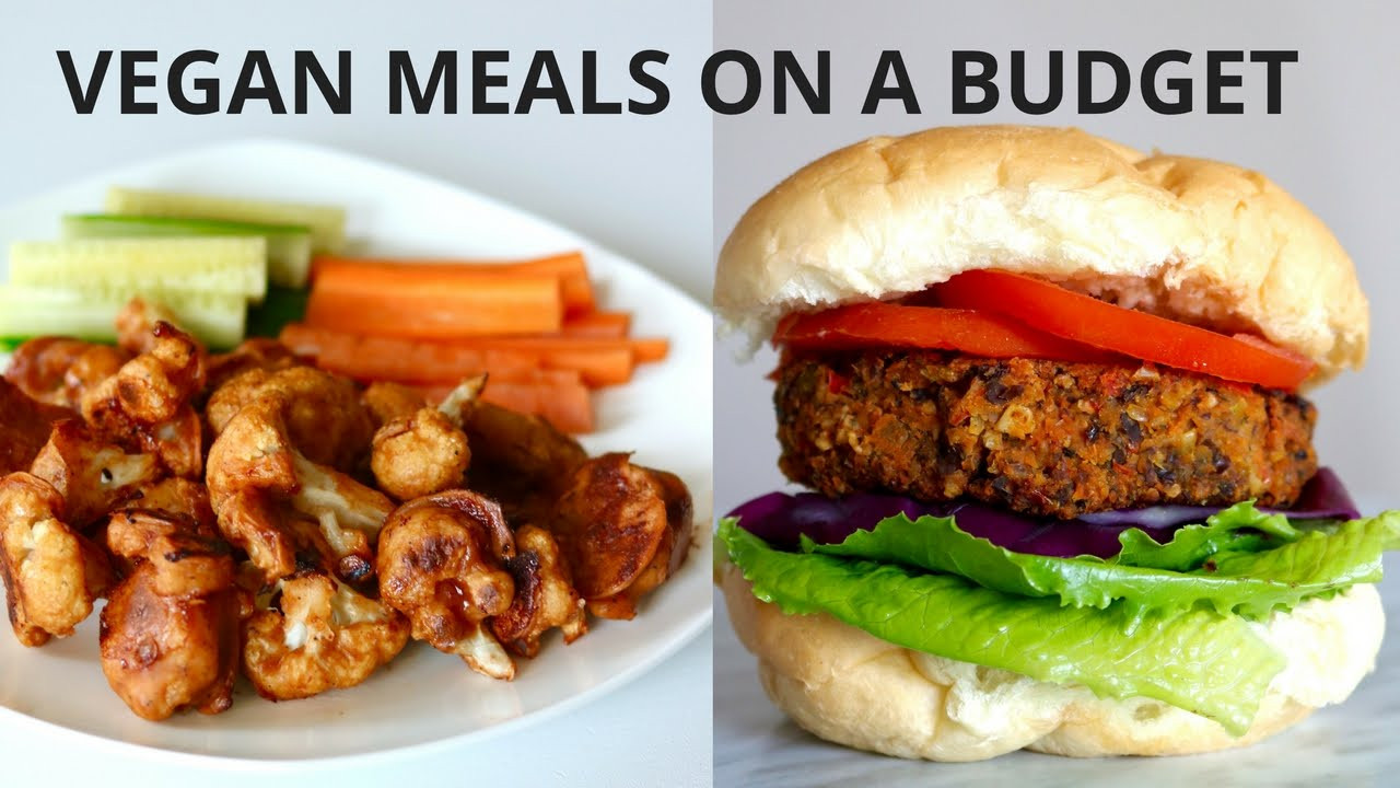 Vegetarian Recipes Cheap  VEGAN MEALS ON A BUDGET UNDER $3