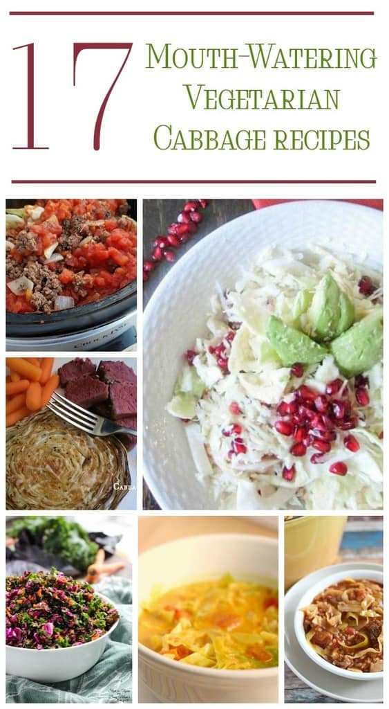 Vegetarian Recipes Cheap  Cabbage Cheap Ve arian Meals for Families