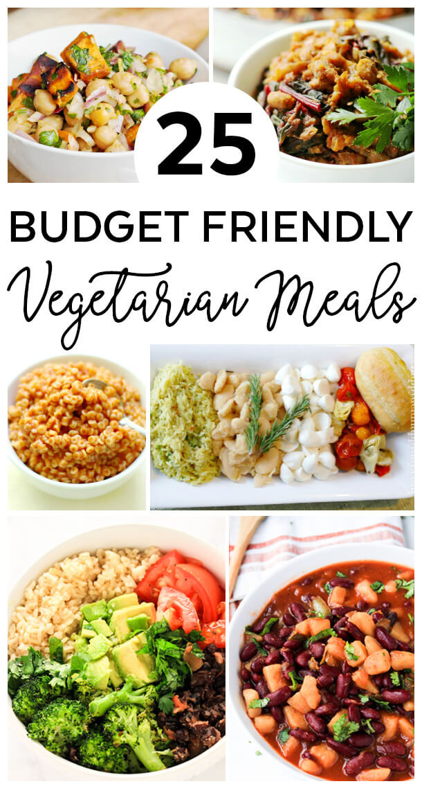 Vegetarian Recipes Cheap  25 Bud Friendly Ve arian Meals