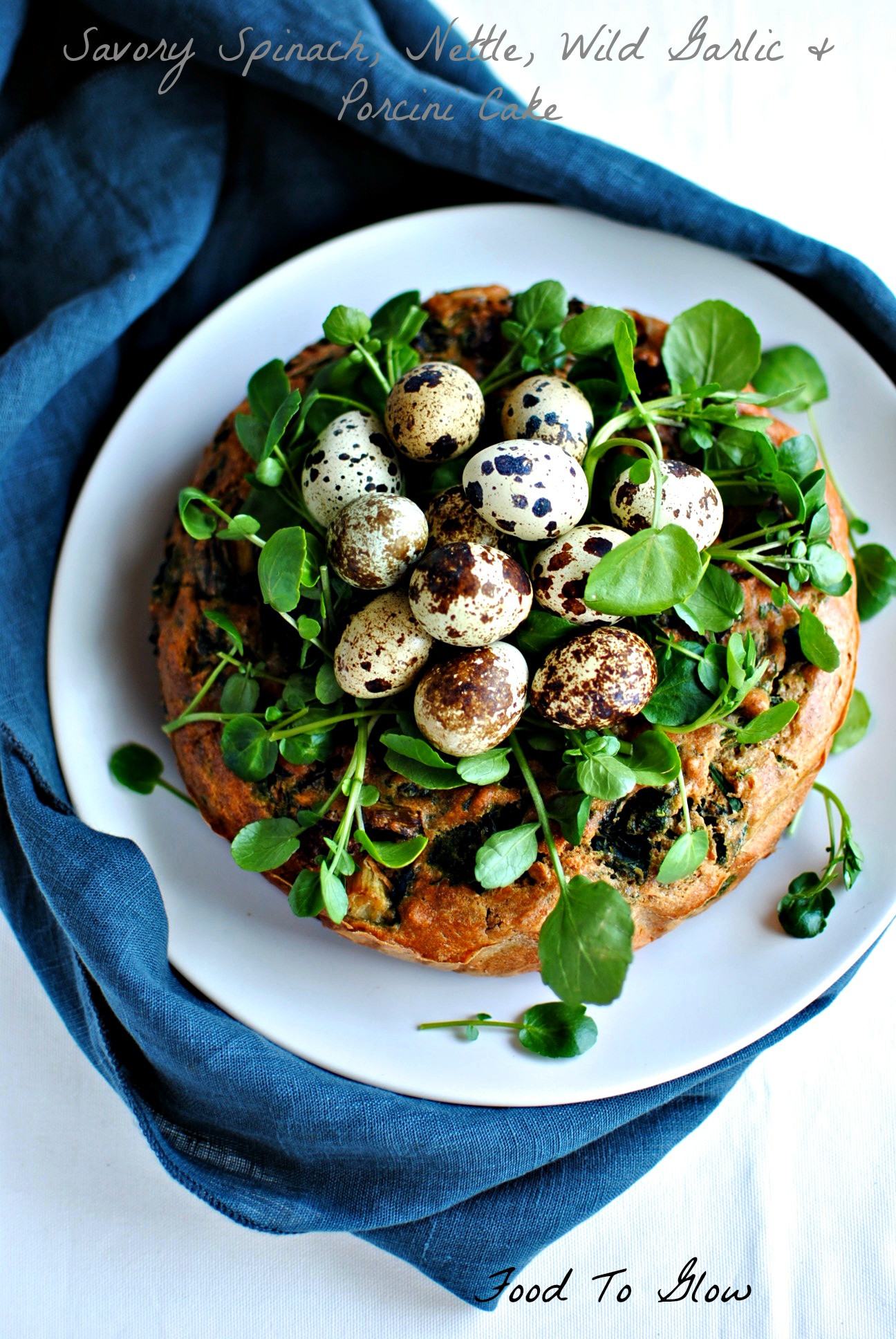 Vegetarian Recipes For Easter  A Foraged Savory Ve able Cake for a Ve arian Easter